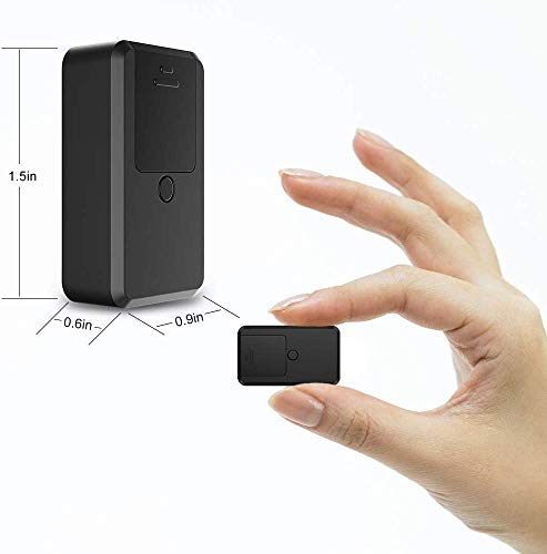 Mini GPS Trackers, Kimfly Upgrade Anti-thief GPS Tracking Device SMS Locator Global Real Time Tracking for Car/Vehicle/Motorcycle/Bycicle/Kids/Wallet/Bags with Free App for iOS and Android