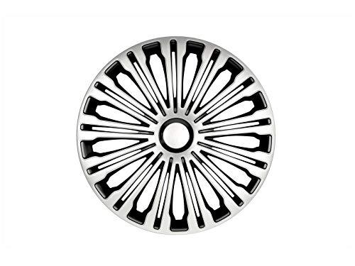 Radkappen Satz 16 Zoll Volante Silber/schwarz |Petex (1350-3628)