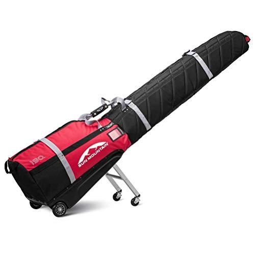 Sun Mountain SkiGlider Travel Bag - Black-Red