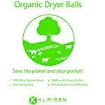 6 XL Organic Tumble Dryer Balls, 100% New Zealand Wool (A+++ Energy Rating), Save Money, Time and the Environment. Nature's Fabric Softener. Handmade, naturally softens and fluffs your clothes 9