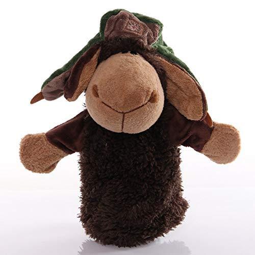ARTFFEL Animal Preciosa ovejas 25cm de la Felpa Animal Juguetes Mano del bebé de Dibujos Animados for la Educación Títeres pretendo Decir muñeca de Juguete de Cuentos for niños Kids Natural