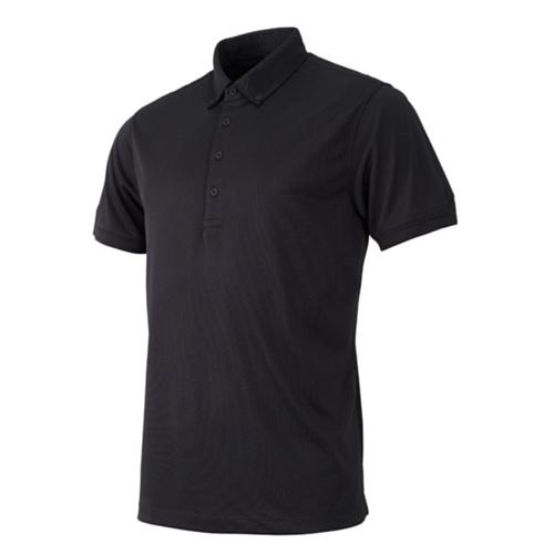 IJP Design, Polo da Golf Uomo - Tour, Nero (Schwarz), S