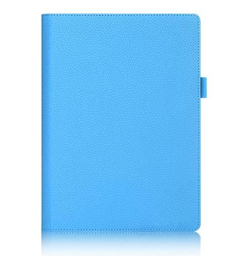 ISIN Premium PU Funda Cover Carcasa para Lenovo Yoga Tab 3 Plus y Lenovo Yoga Tab 3 Pro 10,1' Tablet(Azul)
