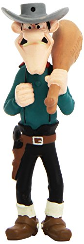 Plastoy 63110 - Figura de Averell Dalton - Fig-Averell Dalton con Jamon Lucky