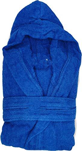 Doucepiuma.it - Albornoz con capucha y bolsillos, de suave