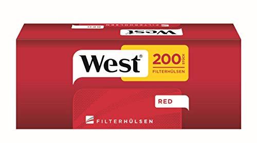 1.000 West Rot Filterhülsen