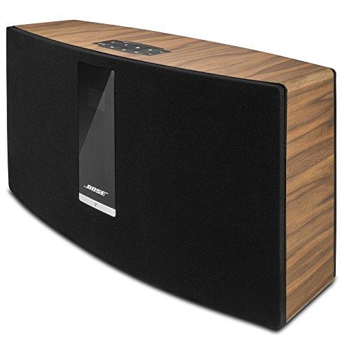 balolo® Walnuss Echtholz-Cover für Bose SoundTouch 30 - Zubehör Design Case Cover Skin Schutz-Hülle - 100% Handmade in Germany - 100% amerikanisches Walnuss-Holz