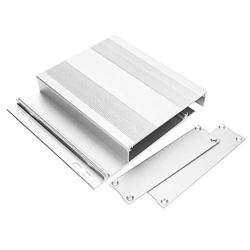 Qqmora Recinto de Proyecto de aleación de Aluminio Recinto de Caja de Instrumentos de Resistencia a la corrosión Recinto de Proyecto de Aluminio Carcasa de GPS para Carcasa de GPS para Carcasa de