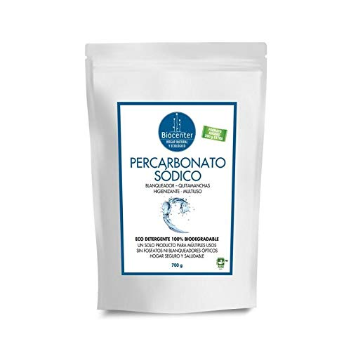 Biocenter Percarbonato Sódico - Higienizante Y Blanqueador 700 g