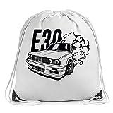 Bimmer E30 Nurburgring Turnbeutel Drawstring Bag Gym Sports Bag Backpack