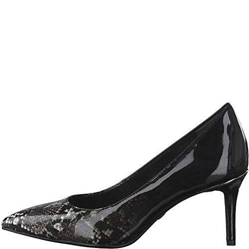 Tamaris 1-22421-23 Damen Schuhe Pumps Spitze Form Stiletto, Schuhgröße:35 EU, Farbe:Grau