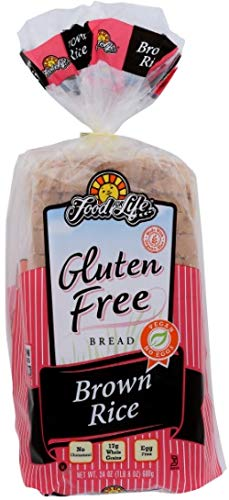 Food For Life Non-gmo Wheat & Gluten Free Brown Rice Bread, 24 Ounce (pack Of 6)
