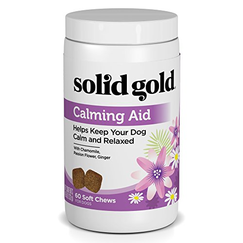 Solid Gold Dog Supplement Calming Aid; Grain Free Chews