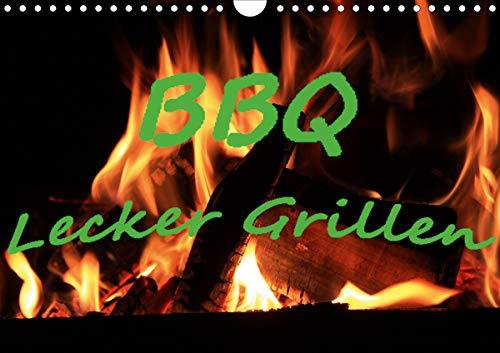 BBQ Lecker Grillen (Wandkalender 2021 DIN A4 quer)