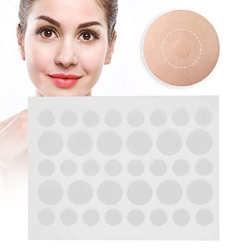 Patch de guérison des boutons Patch hydrocolloïde transparent Pimple Patch Pimple couvrant dissimulant autocollant Patch (36pcs/feuille)