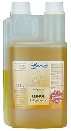 alanui Leinöl in der praktischen Dosierflasche, 1er Pack (1 x 500 ml)