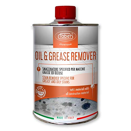 Faber Oil & Grease Remover - Granite, Quartz and Concrete Oil Stain Degreaser- Heavy Duty Oil Spot Remover