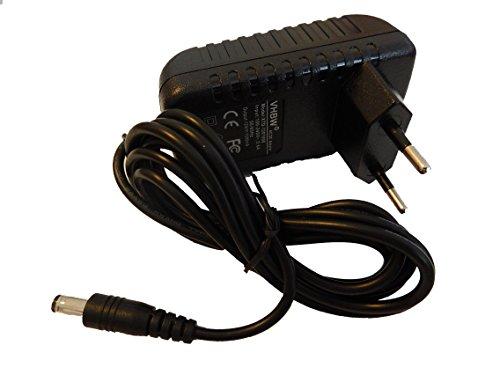 vhbw 220V Netzteil 12W (12V/1A) für Lolaloo Kinderwagenschaukler, Bosch, TT-Micro, Technotrend Receiver wie DVE DSA-12G-12 FEU 120120, NK120P100PGS.
