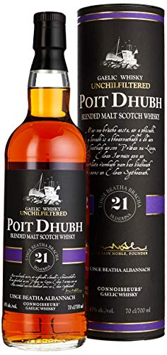 Pràban Na Line The Gaelic Whiskies Whiskey Poit Dhubh Malt 21 Jahre (1 x 0.7 l)