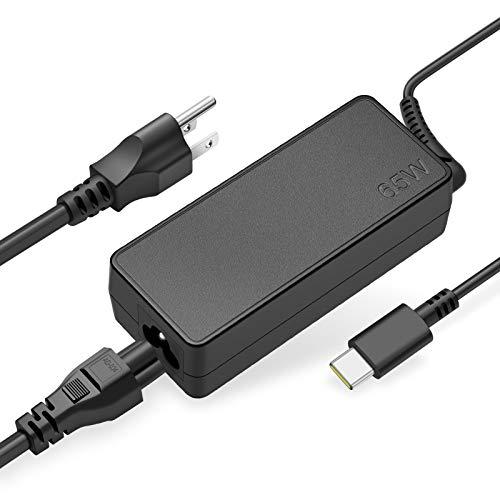 USB-C Laptop Charger 65W 45W for Lenovo Adapter: Chromebook C330 S330 100e 300e 500e Yoga C930 C940 S730 720 730 910 920 13 IdeaPad 730s ThinkPad X1 Carbon T480 T480s T570 T580 GX20P92530 Power Supply