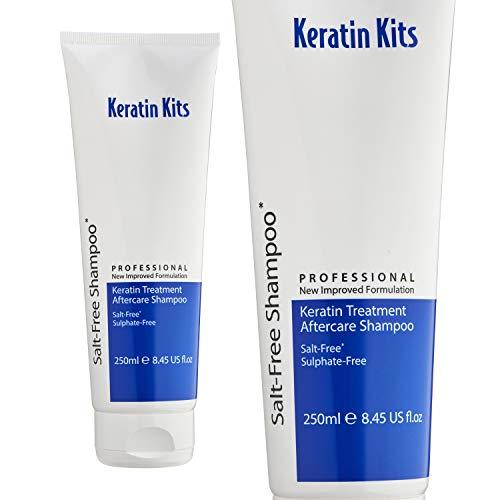 Keratin Kits Salt & Sulfate -Free (No SLS, SLE, ALSS) Aftercare Shampoo to...