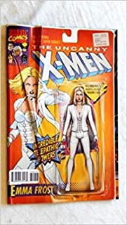 Uncanny X-Men #600 Emma Frost Christopher Action Figure Variant - bbb2b2-1 UNCIRCULATED Comic Book - Marvel Comics 2016 - Grade 8.5 There is 1 Cover Defect - This Is 1 Comic Book Not An Acton Figure