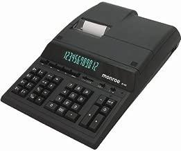 Monroe 8145 Heavy-Duty Standard Desktop Printing Calculator, 14 Digits, 5.0 Lines per Second.12