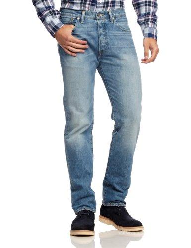 Levi's 501 Original Fit Jeans Vaqueros, Azul (Homestead 1711), 34W / 36L para Hombre