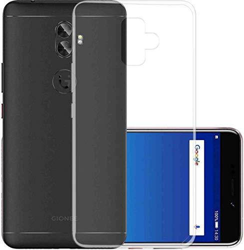 Putku Creations Plain Transparent Backcover for Gionee A1 Plus Mobile Transparent Plain Backcover