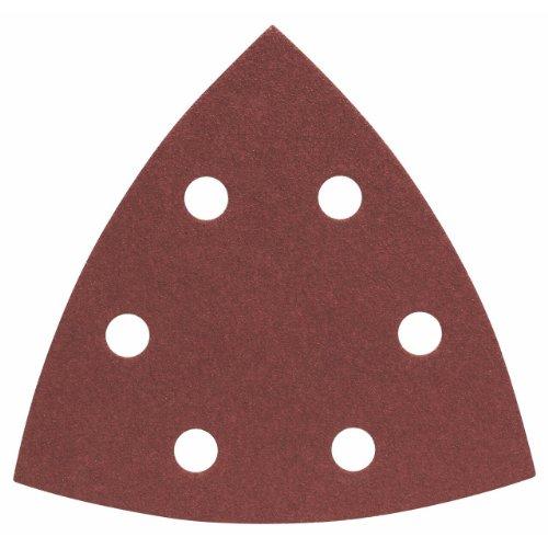 Bosch Professional Schleifblätter für Dreieckschleifer Holz und Farbe (50 Stück, 93 mm, Körnung 100, C470)