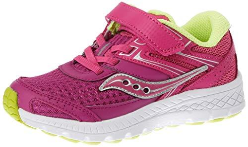 Saucony S-Cohesion 13 A/C Purple/Pink/Green, Zapatillas de Atletismo Niñas