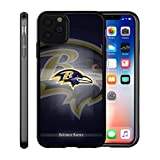 Ravens iPhone 11 Pro Max Case Cover Ravens Design Slim Fit Shockproof Anti-Scratch Shell for iPhone 11 Pro Max 6.5 Inches