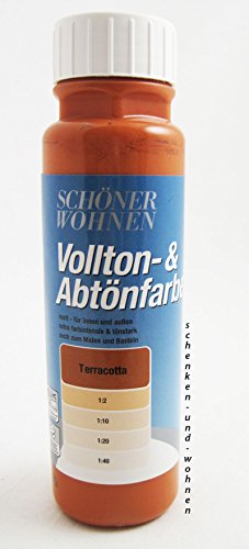 Voll- und Abtönfarbe Terracota 250 ml