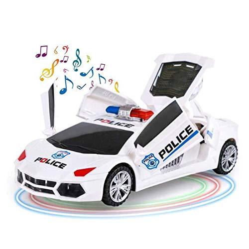 GAO-bo Juguetes para Niños, 360 Grados De Rotación De Velocidad Stunt Car con Luz Colorida LED Música Dinámica, Juguetes para Niños Y Niñas, Regalos para Cumpleaños De Niños