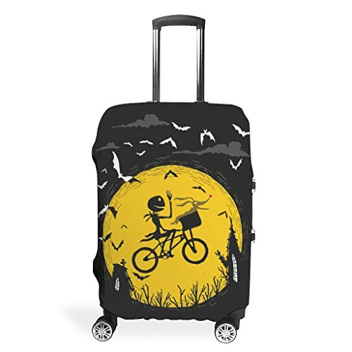 Before Christmas a Nightmare Travel Luggage Cover Suitcase Protector Bag White m(22-24 inch)