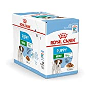 Royal Canin Mini Puppy / Junior Wet Dog Food 24 Pack 85g Each For Young And Growing Small Breed Dogs...