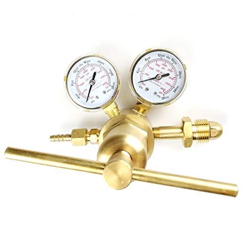 Nitrogen Regulator High Pressure Regulator Singel Stage Large Pressure Reducer (0-4000PSI)