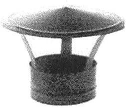 45/°. Wolfpack 22010124 Codo Estufa Galvanizado de 120 mm
