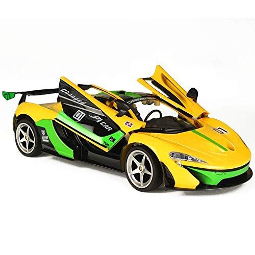 WGFGXQ 1:14 Radio Control Remoto Coche Deportivo 2.4G Vehículo RC electrónico Deportes Carreras Modelo de Carrera Shock Drift Niños Juguete Stunt Cars Grado Puerta Abierta Luces de Trabajo para niñ
