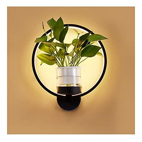 DSMGLRBGZ Wandlampe, Wandlampe Innen Pflanze Augenschutz Bett Schlafzimmer Lichter Für Wohnzimmer Mauer Korridor Lesen,A