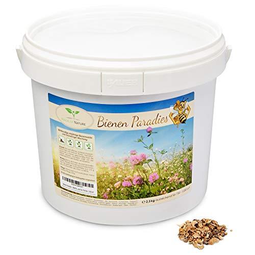 Magic of Nature Blumensamen Mischung - Bienen Paradies - 2,5kg - Kinderleichte Anwendung - Blühfreudige Bienenweide - Aussaat-Tipps - Für 750 bis 1.250 m²