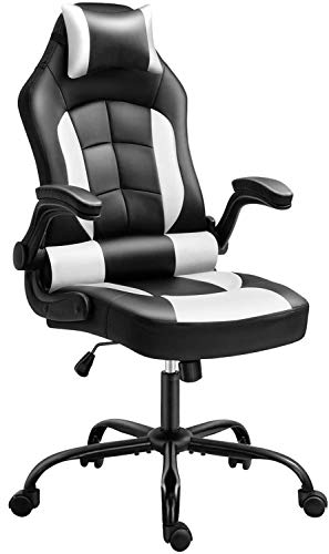 Gaming Chair, Cadcah Ergonomic Computer Chair Reclining High Back Office Chair...