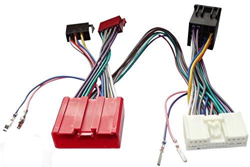 AERZETIX: Cable Adaptador autoradio para Parrot KML Kit Manos Libre de Coche vehículos C12162