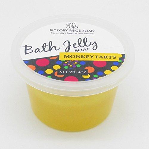 Monkey Farts Bath Jelly Soap | Bath Jellies | Shower Jellies | Body Wash | 4oz
