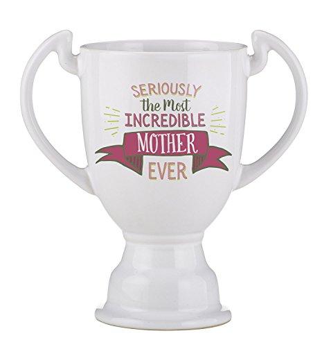 Creative Brands Best Freaking Trophy Ceramic Coffee Mug