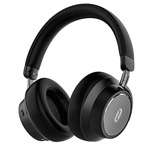 TaoTronics Hybrid Active Noise Cancelling Headphones Bluetooth Headphones Over Ear Headphones Headset with Deep Bass, Fast Charge 30 Hour Playtime for Cellphone TV PC