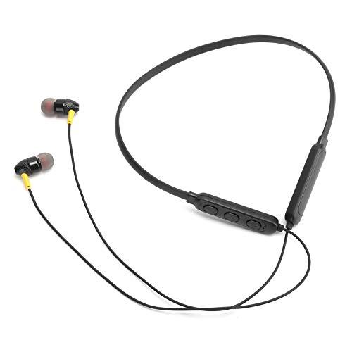 FOLOSAFENAR Speicherkartenfunktion Leichter Halshörer mit hängendem Hals Freisprech-Stereo-Halsband-Ohrhörer zum Sport, zum Aufhängen des Halses und zum Entspannen