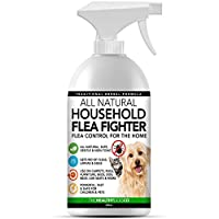 ALL NATURAL & SAFE: Unlike almost all other household flea spray products and treatments on the market, we have no toxins, chemicals or pesticides that can seriously harm the health of you, your children, your pets and the environment. Our powerful h...