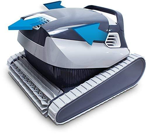41Zzgwah1aL - AHELT-J Elektrischer Poolroboter mit Leicht Zu Reinigenden Filterpatronen für Große Toplader, Ideal für Schwimmbäder im Boden bis zu 50 Fuß.