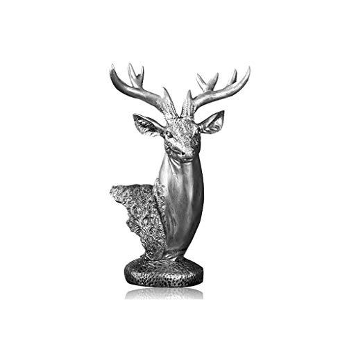 YONGYONGCHONG creatieve woonkamer hars beeldhouwwerk tv-kast decoratie huis decoratie wijnkast elk hoofd kantoor meubels openen geschenken ornamenten reliëf